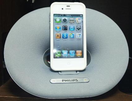 私のiPhone4(ホワイト)